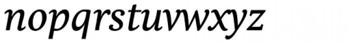 Comenia Serif Pro Italic Font LOWERCASE