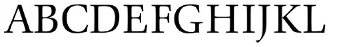 Comenius Antiqua Regular Font UPPERCASE