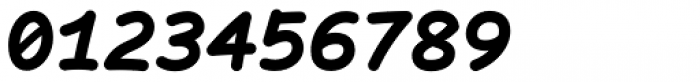 Comic Code Bold Italic Font OTHER CHARS