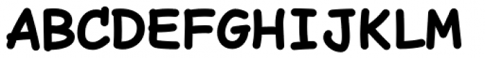 Comic Code Bold Font UPPERCASE