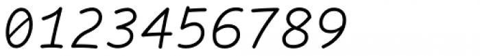 Comic Code Light Italic Font OTHER CHARS