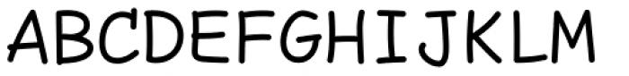 Comic Code Regular Font UPPERCASE