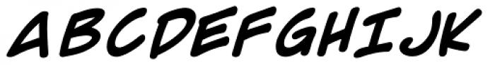 Comic Geek Bold Font UPPERCASE