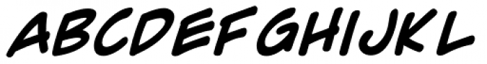 Comic Geek Bold Font LOWERCASE