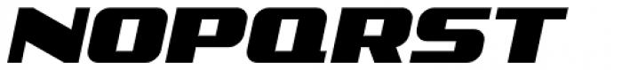 Comic Opera Oblique JNL Font UPPERCASE