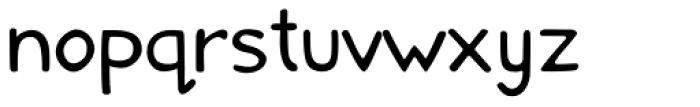 Comical Lite Font LOWERCASE