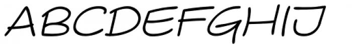 Comicblast Italic Font UPPERCASE