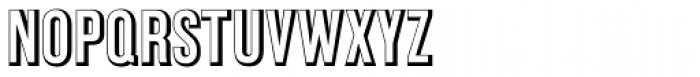 Commerce Gothic Std Regular Font UPPERCASE
