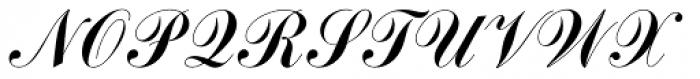 Commercial Script Com Font UPPERCASE