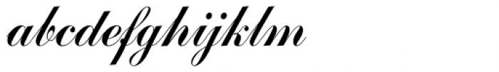 Commercial Script Com Font LOWERCASE