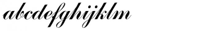 Commercial Script EF Font LOWERCASE