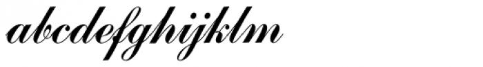 Commercial Script SB Reg Font LOWERCASE