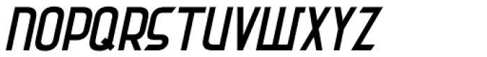 Common Area Oblique JNL Font UPPERCASE