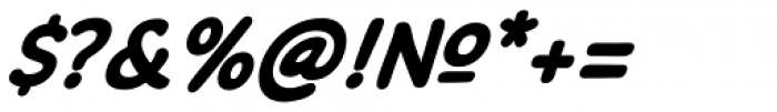 Common Comic Bold Italic Font OTHER CHARS