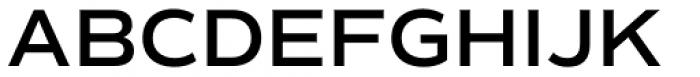 Commuters Sans Semi Bold Font UPPERCASE