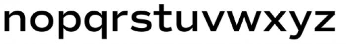 Commuters Sans Semi Bold Font LOWERCASE