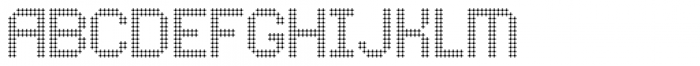 Comodot Round Bottom Font UPPERCASE