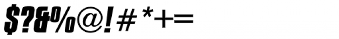Compacta Bold Italic Font OTHER CHARS