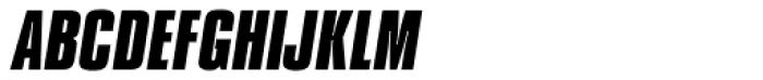 Compacta Bold Italic Font UPPERCASE
