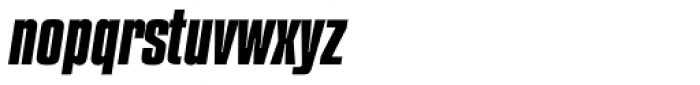 Compacta Bold Italic Font LOWERCASE