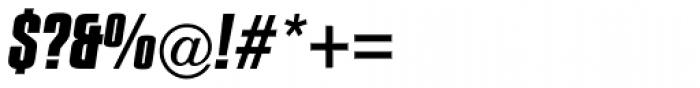 Compacta Com Bold Italic Font OTHER CHARS