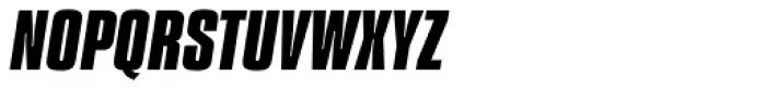 Compacta Com Bold Italic Font UPPERCASE