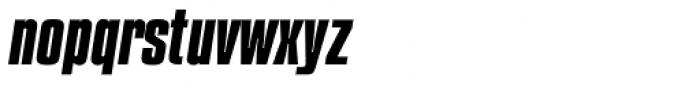 Compacta Com Bold Italic Font LOWERCASE