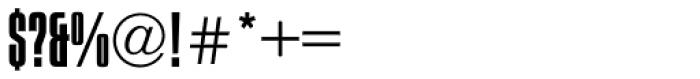 Compacta Light Font OTHER CHARS