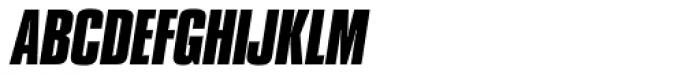 Compacta SB Bold Italic Font UPPERCASE