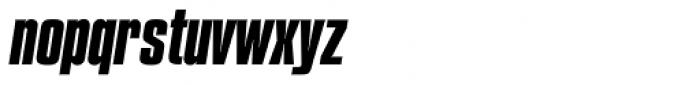 Compacta SB Bold Italic Font LOWERCASE