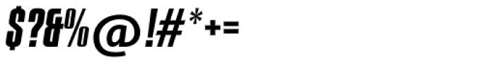 Compacta SB Italic Font OTHER CHARS