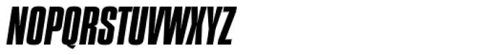 Compacta SB Italic Font UPPERCASE