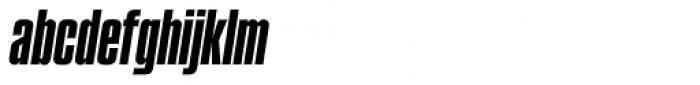 Compacta SB Italic Font LOWERCASE