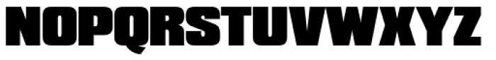 Compacta SH Black Font UPPERCASE