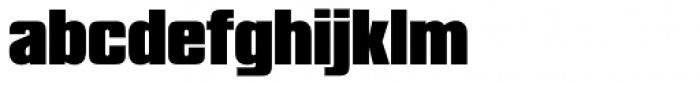 Compacta SH Black Font LOWERCASE
