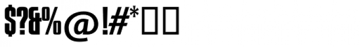 Compacta SH Regular Font OTHER CHARS