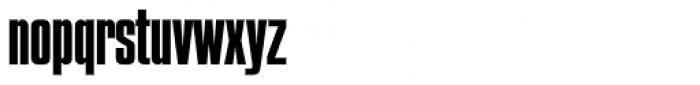 Compacta SH Regular Font LOWERCASE