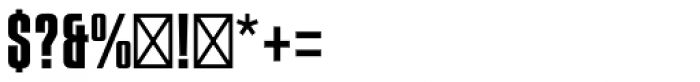 Compacta Std Font OTHER CHARS