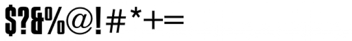 Compacta Font OTHER CHARS