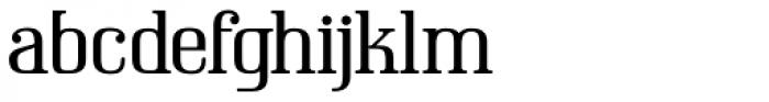 Compado Font LOWERCASE