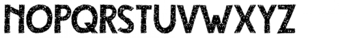 Compagnon Dirty Regular Font UPPERCASE