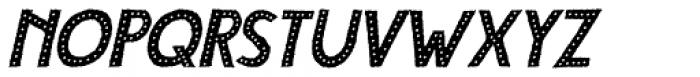 Compagnon Polka Italic Font UPPERCASE