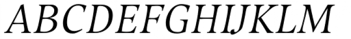 Compatil Exquisit Pro Italic Font UPPERCASE