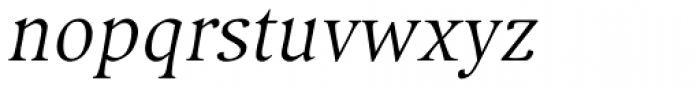 Compatil Exquisit Pro Italic Font LOWERCASE