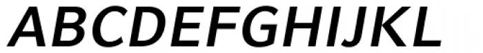 Compatil Fact Bold Oblique Font UPPERCASE