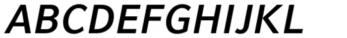 Compatil Fact Paneuropean Bold Italic Font UPPERCASE