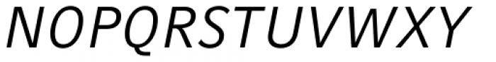 Compatil Fact Paneuropean Italic Font UPPERCASE