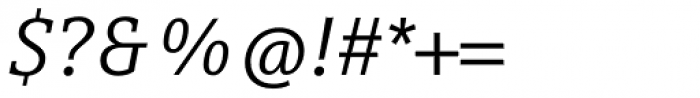 Compatil Letter Pro Italic Font OTHER CHARS
