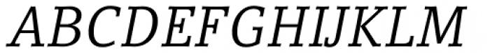Compatil Letter Pro Italic Font UPPERCASE