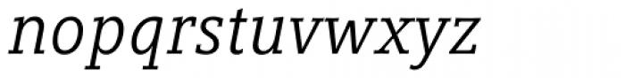 Compatil Letter Pro Italic Font LOWERCASE
